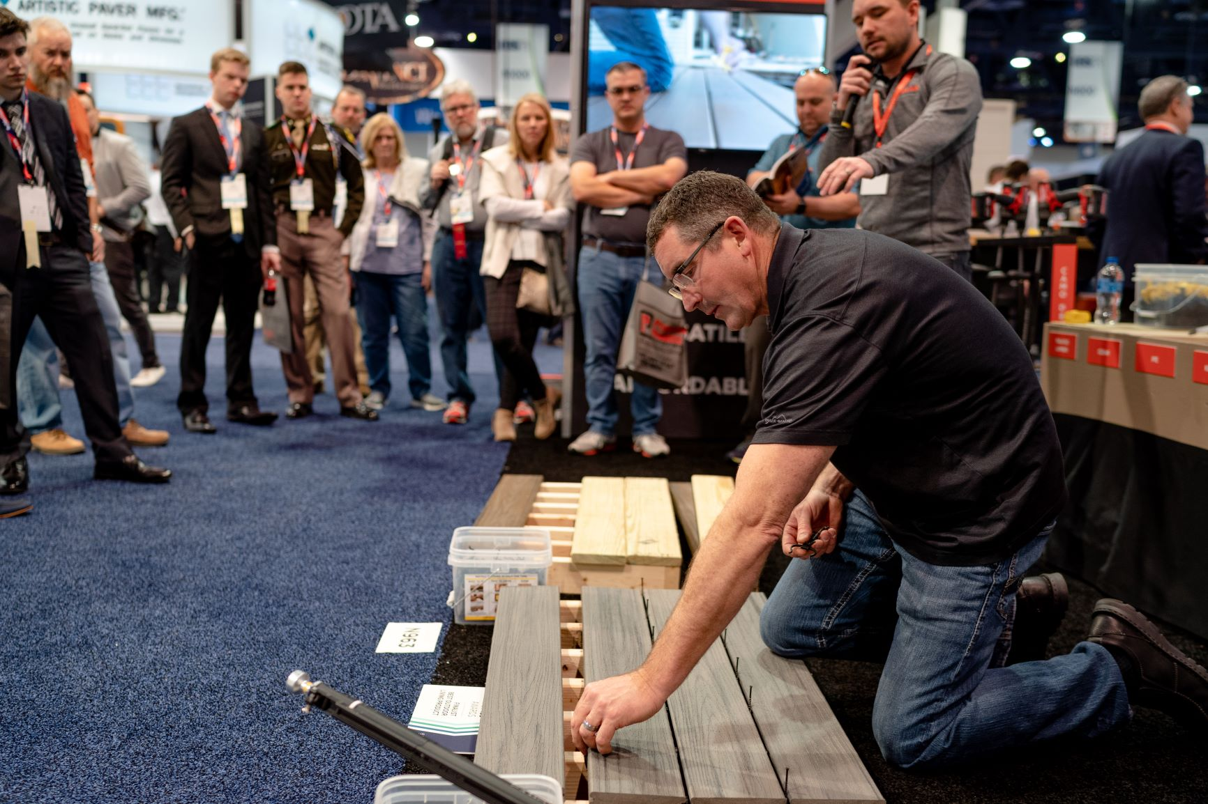 Exhibit Floor Demo