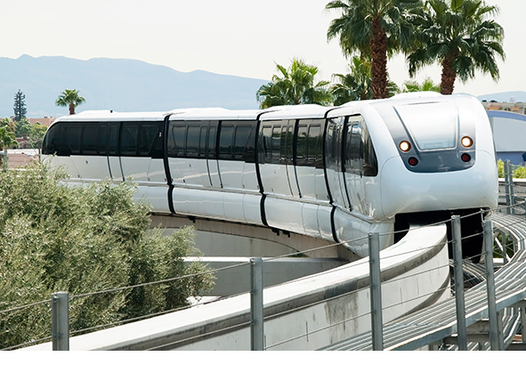 Las Vegas Monorail Advertising