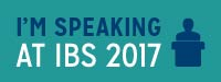 I'm Speaking at IBS 2017