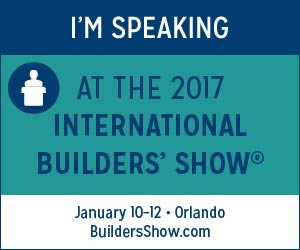 Speaker tools nahb international builders 39 show for 2017 nahb international builders show