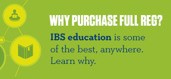 IBS Education - Purchase a full registration!