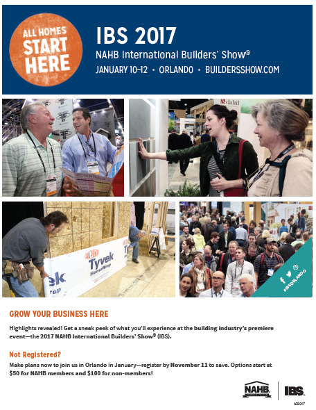 Eo tools nahb international builders 39 show january 10 for 2017 nahb international builders show