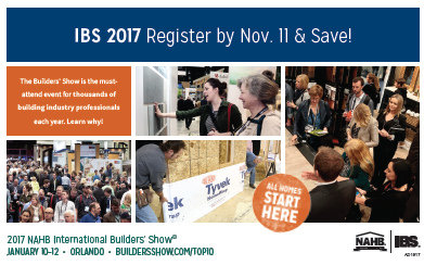 Eo tools nahb international builders 39 show january 10 for International builders show 2017 exhibitors