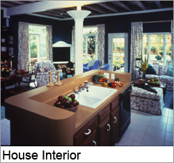 The New American Home - 1984 House Interior