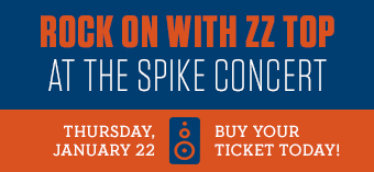 Spike Concert with ZZ TOP